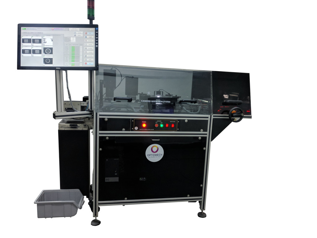 Silica Desiccant Canister Inspection System